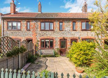 Thumbnail 2 bedroom terraced house for sale in Storey's Loke, Northrepps, Cromer