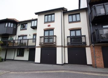 Thumbnail 3 bed town house to rent in Channel Way, Southampton