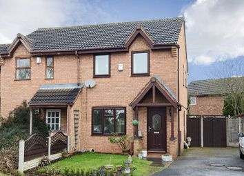 Thumbnail 3 bed semi-detached bungalow to rent in Lea Hall Drive, Chase Terrace, Burntwood