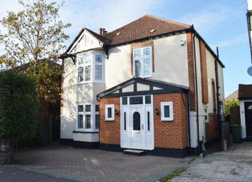 Thumbnail Detached house to rent in Squirrels Heath Road, Harold Wood, Romford