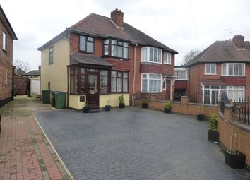 Thumbnail 3 bed semi-detached house for sale in Crawford Avenue, Bearwood, Smethwick