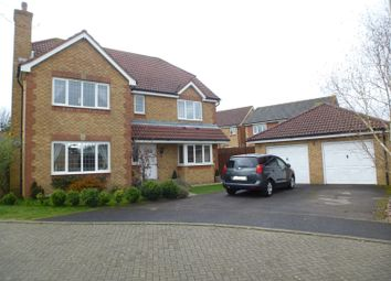 Thumbnail 4 bed detached house for sale in Strawberry Mead, Fair Oak, Eastleigh