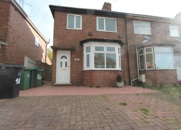 Thumbnail 3 bed semi-detached house to rent in Woodnorton Road, Rowley Regis
