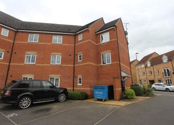 Thumbnail 2 bed flat for sale in Stackyard Close, Braunstone, Leicester