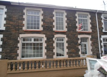Thumbnail 4 bed terraced house to rent in Glannant Street, Aberdare