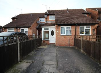 Thumbnail 1 bed terraced house for sale in Dove Close, Worcester