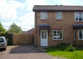 Thumbnail 2 bed semi-detached house to rent in Ambleside Close, Wellingborough