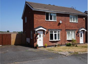 Thumbnail 2 bedroom semi-detached house for sale in Albion Street, St Georges Telford
