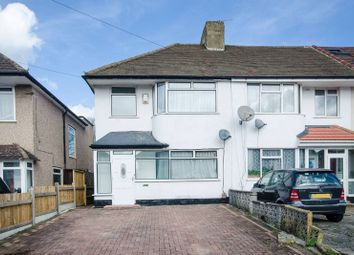 Thumbnail 3 bed end terrace house to rent in Eastleigh Avenue, Rayners Lane