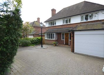 Thumbnail 4 bedroom detached house for sale in Ayling Lane, Aldershot, Hampshire