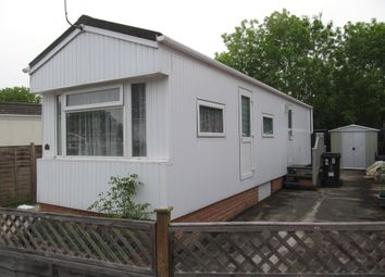 Thumbnail 1 bed mobile/park home for sale in Kingsdown Park (Ref 5902), Swindon, Wiltshire