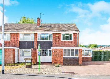 Thumbnail 3 bedroom semi-detached house for sale in Heather Drive, Wellington, Telford