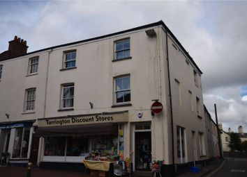 Thumbnail 1 bedroom flat to rent in Fore Street, Great Torrington, Devon;