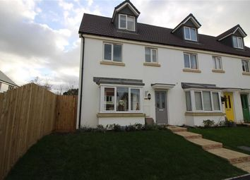 Thumbnail 3 bed end terrace house to rent in Sea King Close, Bickington, Devon