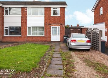 Thumbnail 3 bed semi-detached house for sale in Barr Crescent, Whitwick, Coalville, Leicestershire