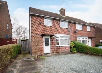 Thumbnail 2 bed semi-detached house for sale in Bishop Street, Alfreton