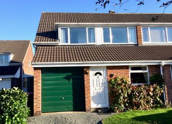 Thumbnail 3 bed semi-detached house for sale in Rowland Avenue, Polesworth, Tamworth