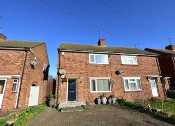 Thumbnail 2 bed semi-detached house for sale in Dene Holm Road, Northfleet, Gravesend
