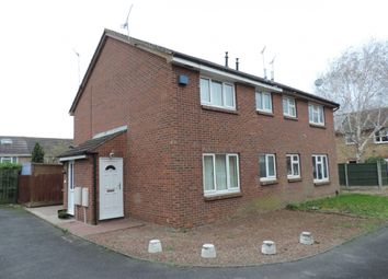 Thumbnail 1 bed terraced house to rent in Floyd Close, Leicester, Leicestershire