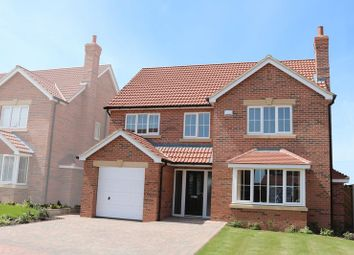 Thumbnail 4 bed detached house for sale in Plot 16, The Haddon, Willow Farm, Hibaldstow