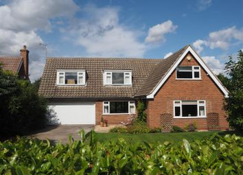 Thumbnail 4 bed detached house for sale in Whitegates, Woodhill Road, Collingham, Newark