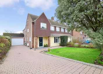 Thumbnail 4 bedroom semi-detached house for sale in Sycamore Drive, Greenacres, Aylesford, Kent
