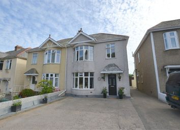 Thumbnail 3 bed semi-detached house for sale in Tresawls Road, Truro