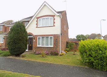 Thumbnail 3 bed detached house for sale in Wellsbourne Road, Stone Cross, Pevensey