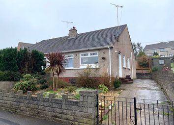 Thumbnail 2 bed semi-detached bungalow to rent in Wordsworth Avenue, Cefn Glas, Bridgend