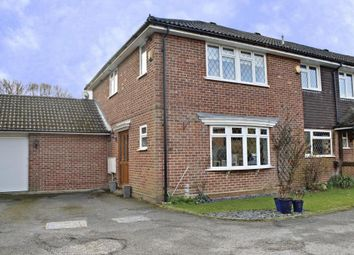 Thumbnail 3 bed semi-detached house for sale in Tollway, Chineham, Basingstoke