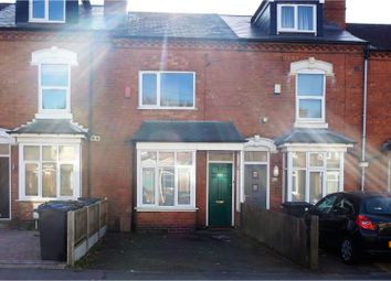 Thumbnail 3 bed terraced house for sale in Heeley Road, Birmingham