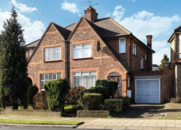Thumbnail 3 bed semi-detached house for sale in Chanctonbury Way, London N12, Woodside Park, N12,