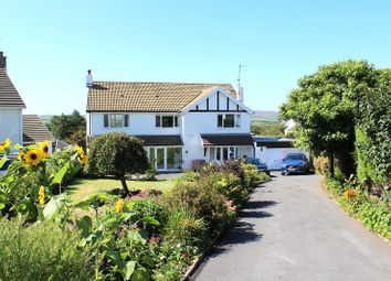 Thumbnail 4 bed detached house for sale in Brynview Close, Reynoldston, Swansea
