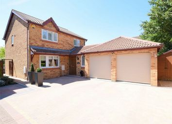 Thumbnail 4 bed detached house for sale in Sapley Road, Hartford, Huntingdon, Cambridgeshire