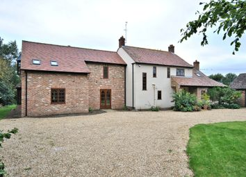 Thumbnail 5 bed farmhouse for sale in Thurlands Drove, Upwell, Wisbech