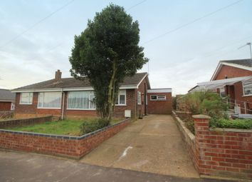 Thumbnail 4 bed semi-detached bungalow for sale in Upper Grange Crescent, Caister-On-Sea, Great Yarmouth