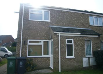Thumbnail 1 bedroom property to rent in Clover Way, Bradwell, Great Yarmouth