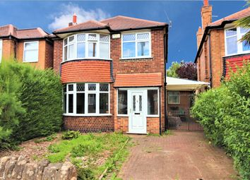 Thumbnail 3 bed detached house for sale in Seaford Avenue, Wollaton, Nottingham