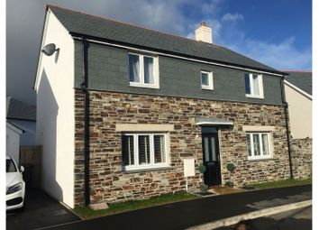 Thumbnail 4 bed detached house for sale in Soldon Close, Padstow