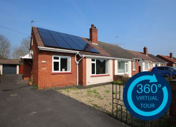 Thumbnail 2 bed semi-detached bungalow for sale in Woolsery Avenue, Whipton, Exeter