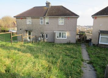 Thumbnail 3 bed semi-detached house for sale in Chard Road, Plymouth