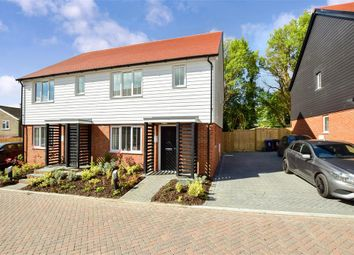 Thumbnail 3 bed semi-detached house for sale in East Langdon, Longhill, East Langdon, Dover, Kent
