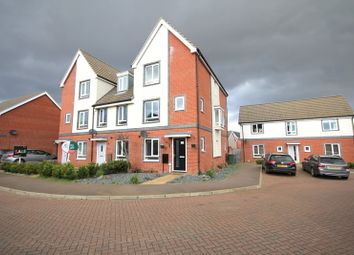 Thumbnail 4 bed end terrace house for sale in Waxwing Way, Costessey, Norwich