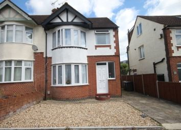 Thumbnail 3 bed semi-detached house to rent in Grosvenor Road, Luton