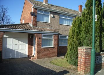 Thumbnail 3 bedroom semi-detached house to rent in Guildford Road, Normanby, Middlesbrough