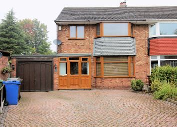 Thumbnail 3 bed semi-detached house for sale in Warwick Avenue, Whitefield, Manchester