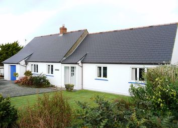Thumbnail 5 bed detached bungalow for sale in Draenen Ddu, Pen-Y-Groes, Croesgoch, Haverfordwest, Pembrokeshire