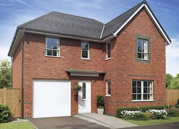 "Thumbnail 4 bedroom detached house for sale in ""Halton"" at Ruston Road, Burntwood"