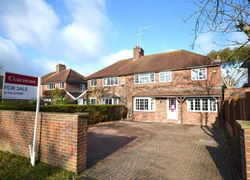 Thumbnail 4 bed semi-detached house for sale in Foxhills Road, Ottershaw, Chertsey