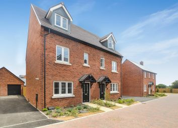 Thumbnail 4 bed semi-detached house for sale in Plot 190, Heyford Park, Bicester
